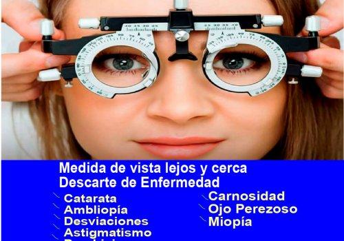 #COMUNICADO Campaña de la Salud Visual este 28 de Julio en Omia