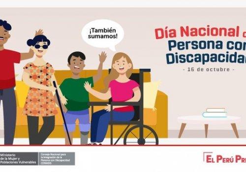 Día Nacional de la Persona con Discapacidad